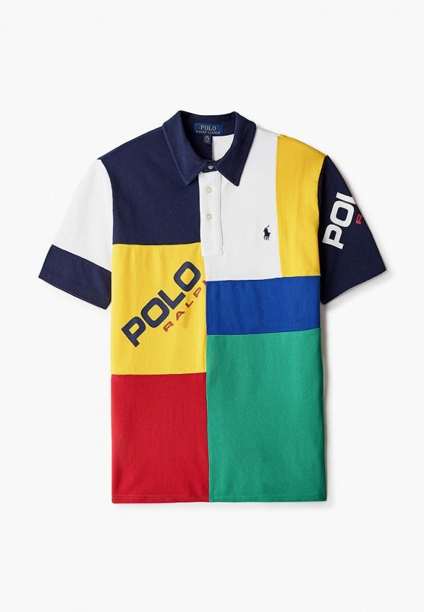 поло polo ralph lauren для мальчика, разноцветное