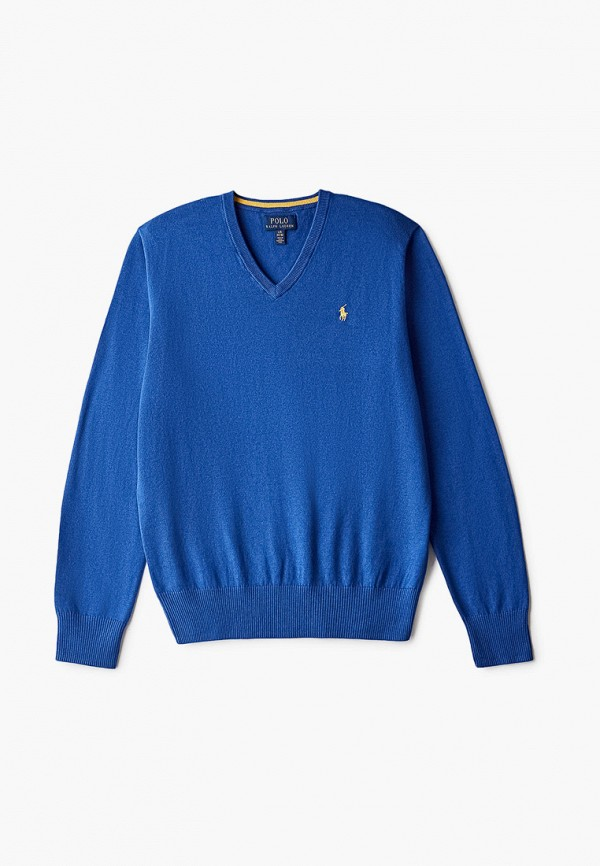 Пуловер Polo Ralph Lauren Polo Ralph Lauren 323799886006 синий фото