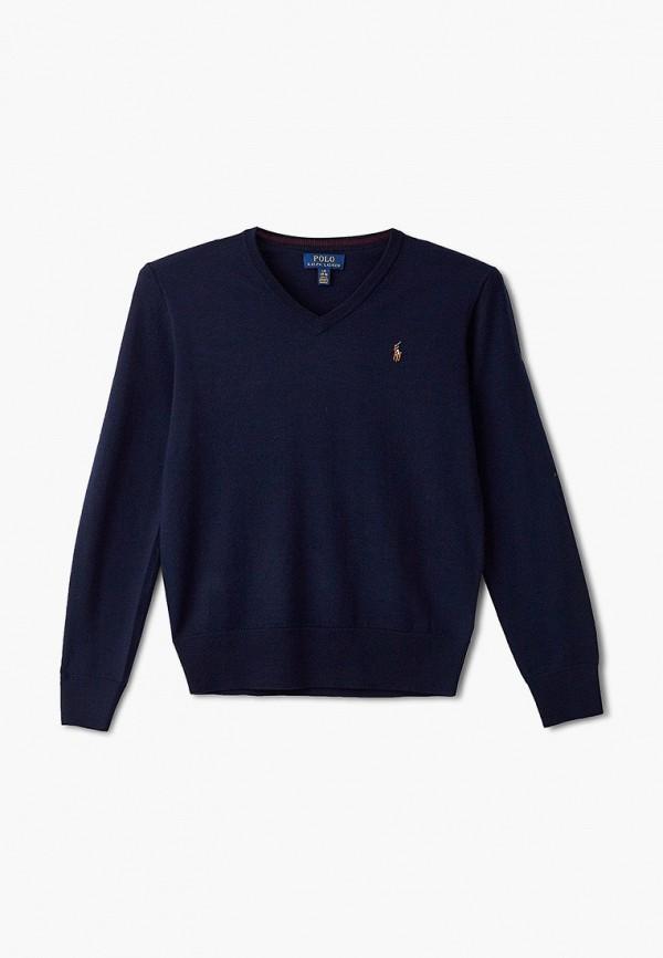 Пуловер Polo Ralph Lauren Polo Ralph Lauren 323702674009 синий фото