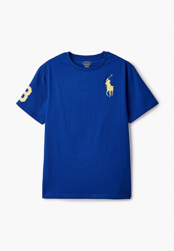 Футболка Polo Ralph Lauren Polo Ralph Lauren 323832907009 синий фото