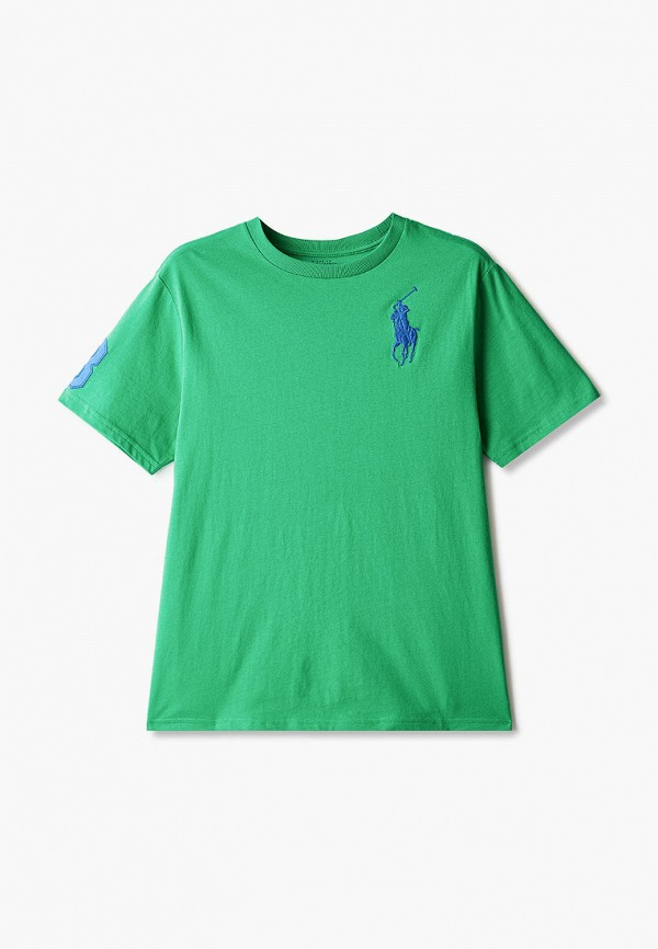 Футболка Polo Ralph Lauren Polo Ralph Lauren 323832907011 зеленый фото