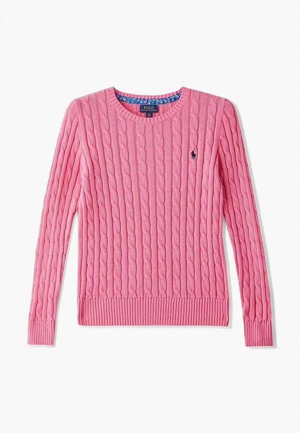 джемпер polo ralph lauren для девочки, розовый