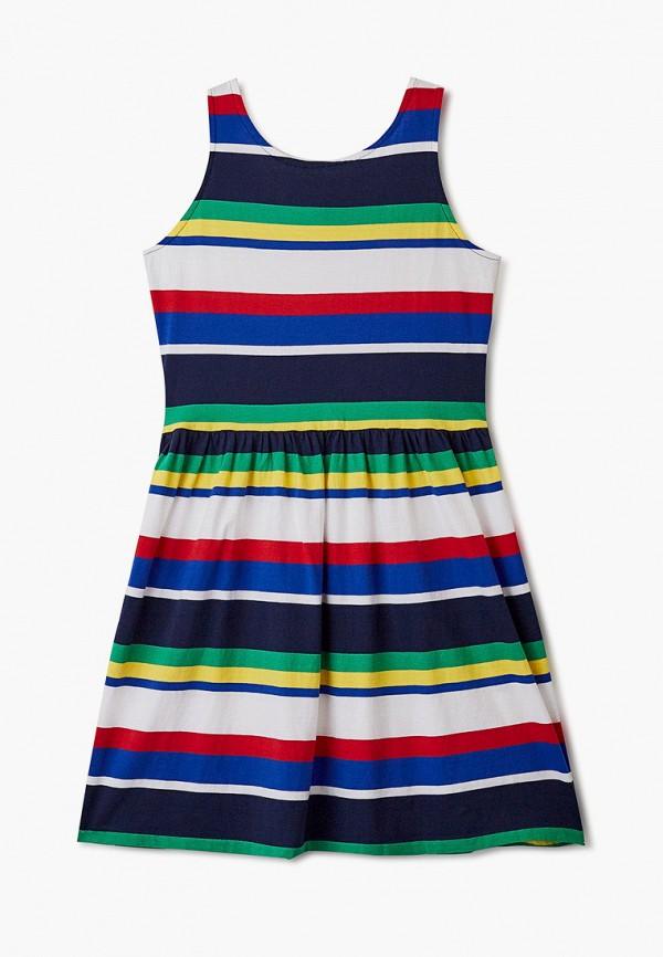 повседневные платье polo ralph lauren для девочки, разноцветное
