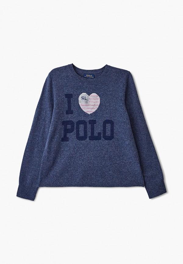 джемпер polo ralph lauren для девочки, синий
