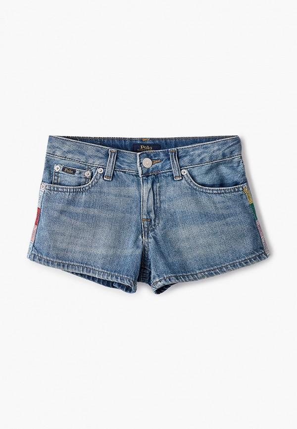 Шорты джинсовые Polo Ralph Lauren синего цвета