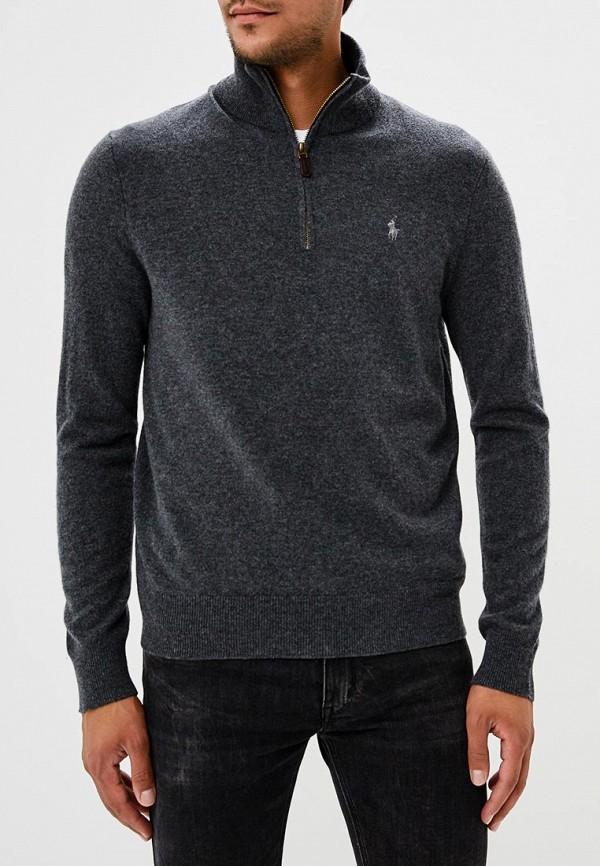 мужской свитер polo ralph lauren, серый
