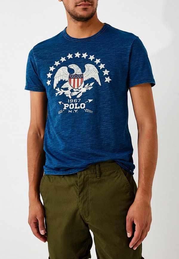 Футболка Polo Ralph Lauren Polo Ralph Lauren PO006EMBXKM6 джинсы polo ralph lauren polo ralph lauren po006ewvzk46