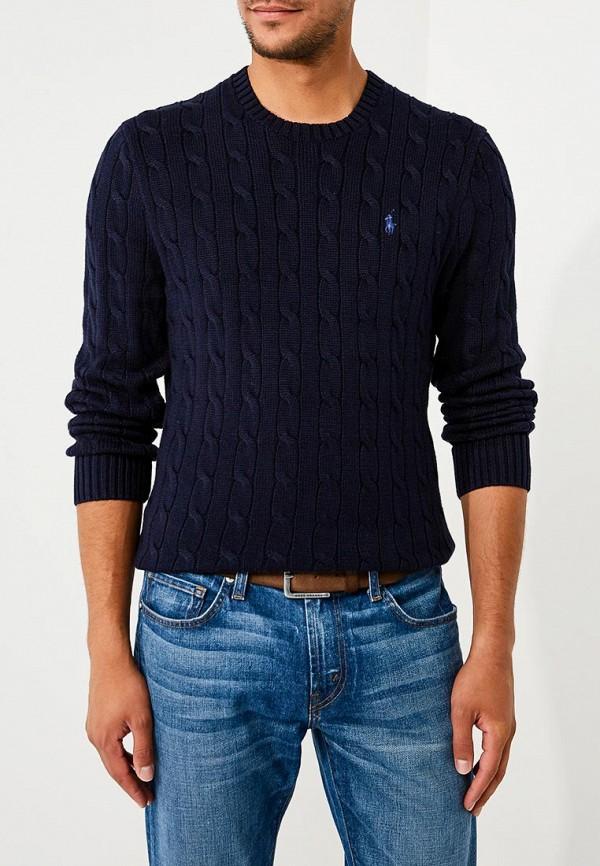 Фото - мужское джемпер Polo Ralph Lauren синего цвета