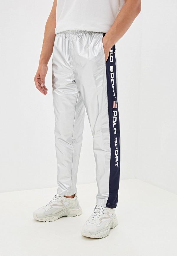 мужские спортивные спортивные брюки polo ralph lauren, серебряные