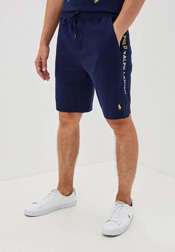 мужские повседневные шорты polo ralph lauren, синие