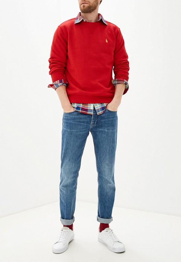 Фото 2 - Свитшот Polo Ralph Lauren красного цвета