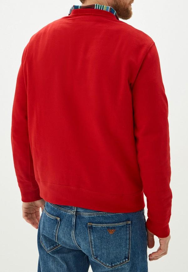 Фото 3 - Свитшот Polo Ralph Lauren красного цвета