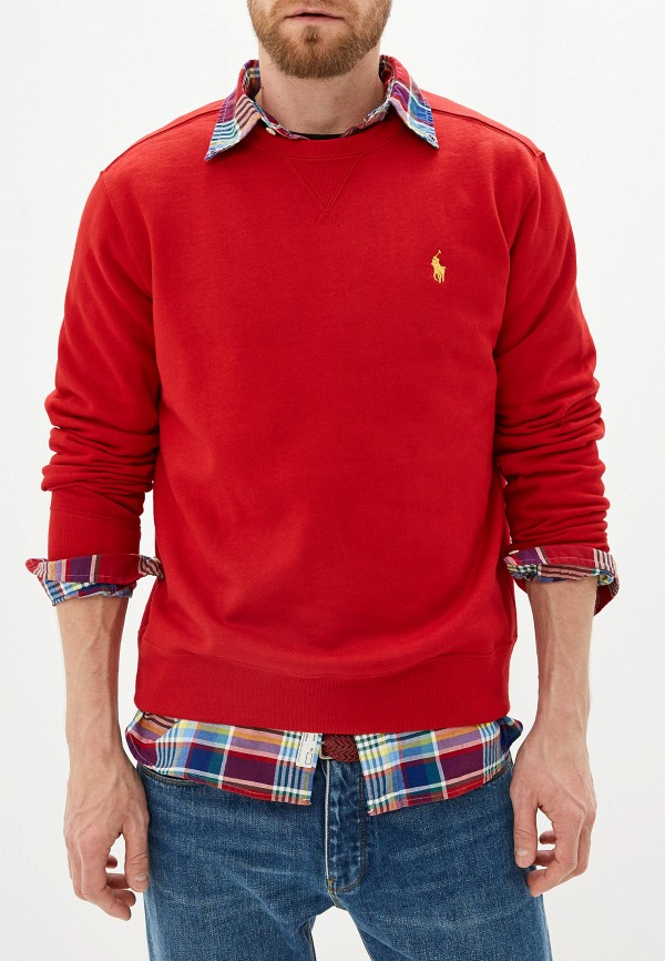 Фото 4 - Свитшот Polo Ralph Lauren красного цвета