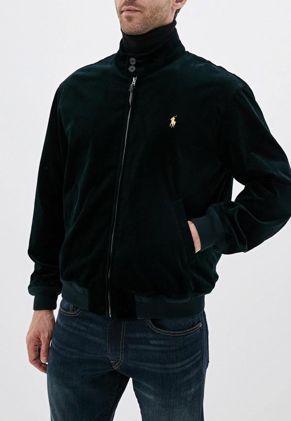 мужская куртка polo ralph lauren, зеленая