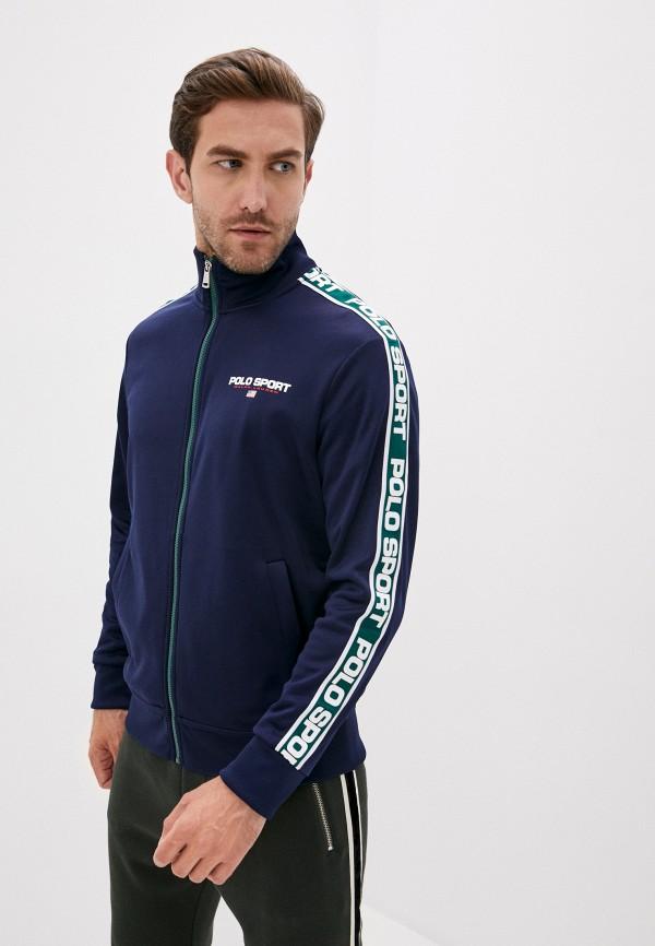 мужская олимпийка polo ralph lauren, синяя