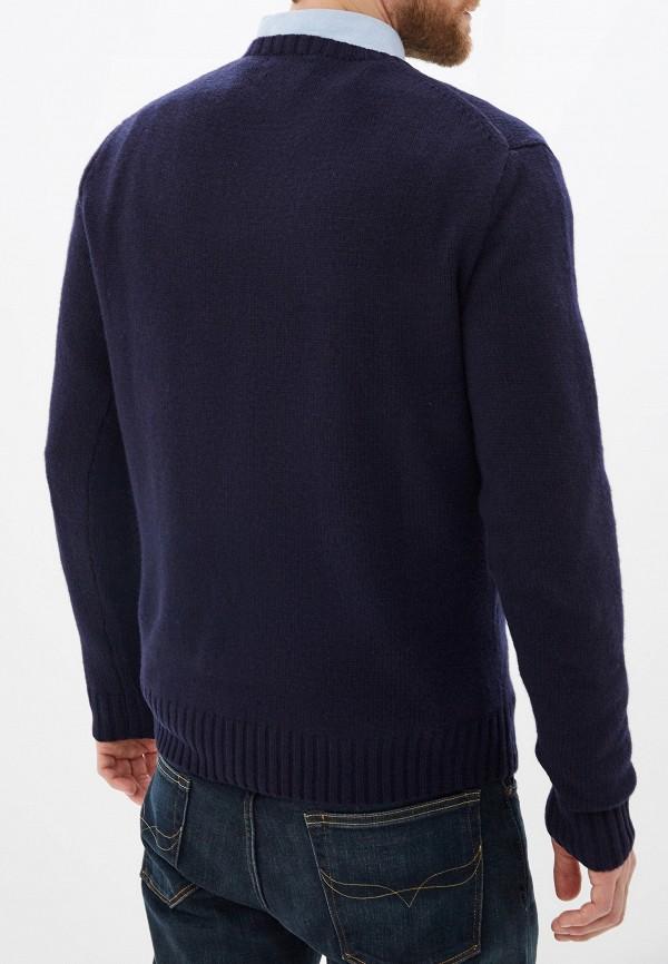 Фото 3 - мужское джемпер Polo Ralph Lauren синего цвета