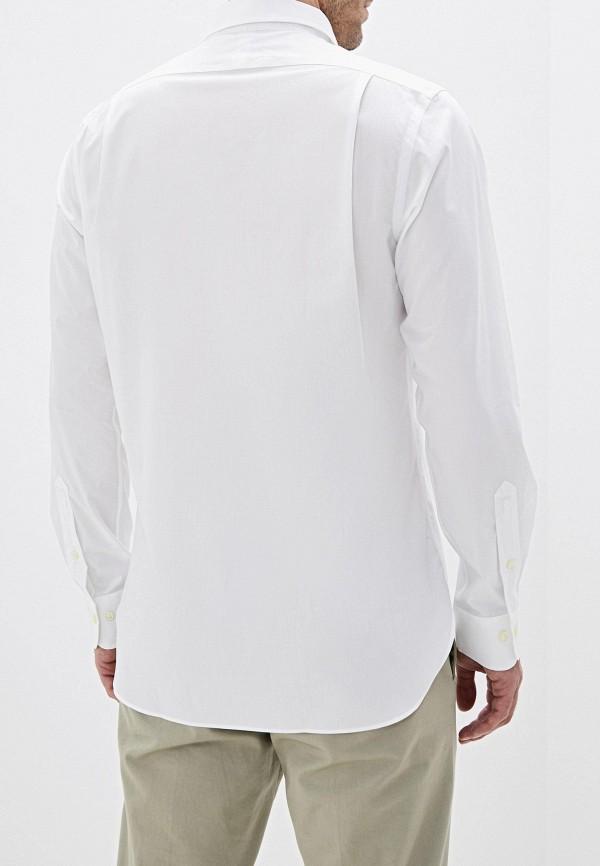 Фото 3 - мужскую рубашку Polo Ralph Lauren белого цвета