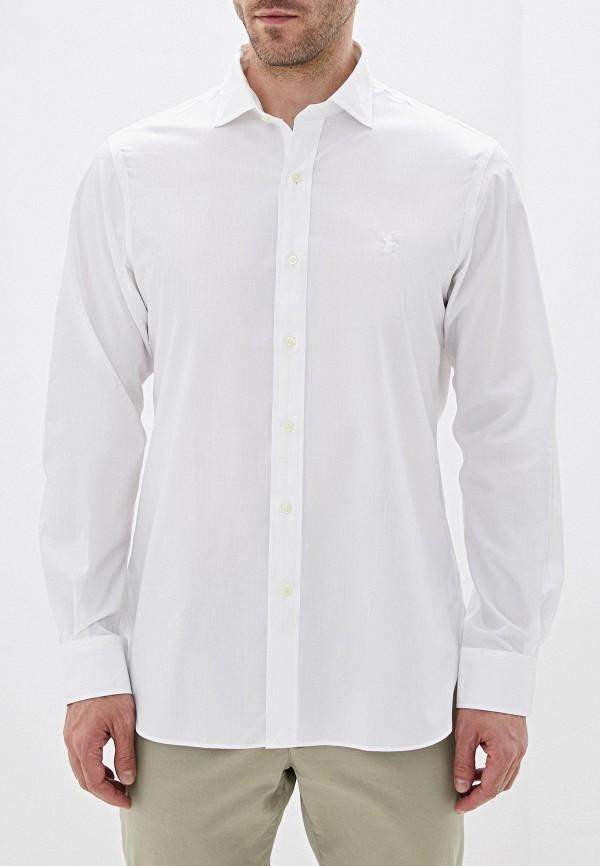 Фото 4 - мужскую рубашку Polo Ralph Lauren белого цвета