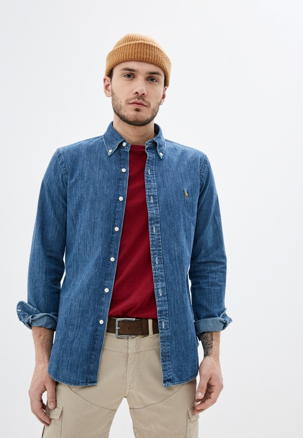Рубашка джинсовая Polo Ralph Lauren Polo Ralph Lauren PO006EMHTRE8 рубашка polo ralph lauren polo ralph lauren po006embxmp0