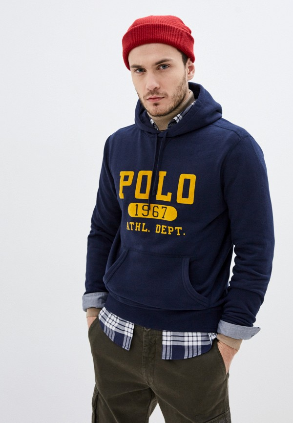 мужские худи polo ralph lauren, синие