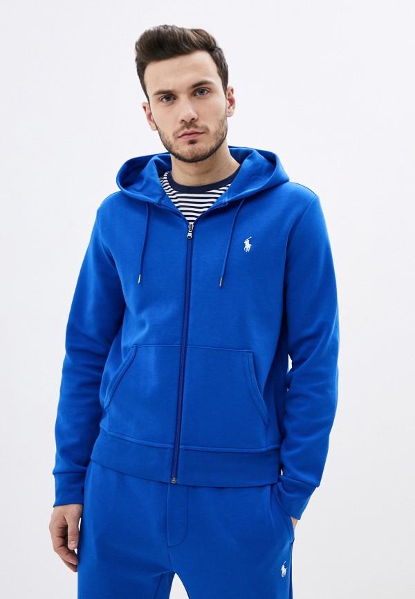 мужская толстовка polo ralph lauren, синяя