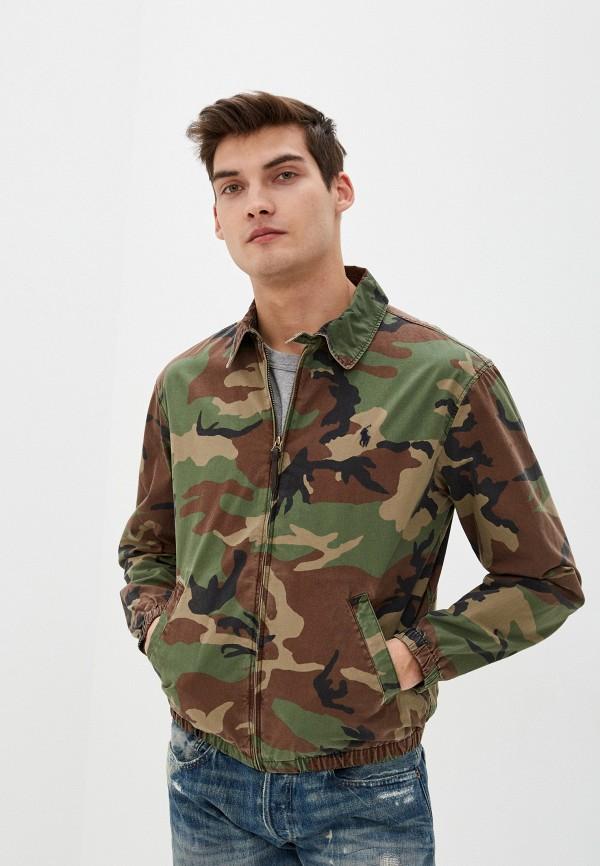 мужская куртка polo ralph lauren, хаки