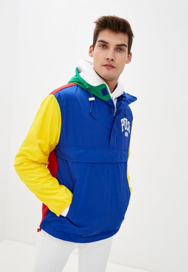 мужская куртка polo ralph lauren, разноцветная