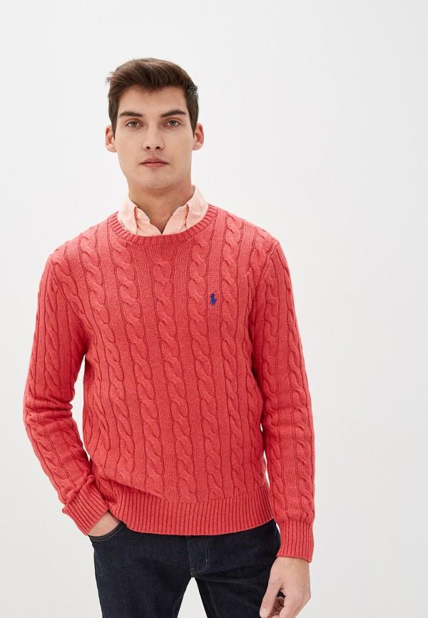 мужской джемпер polo ralph lauren, красный