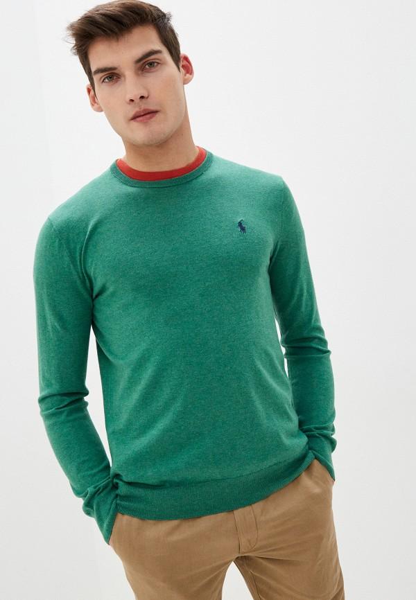 мужской джемпер polo ralph lauren, зеленый
