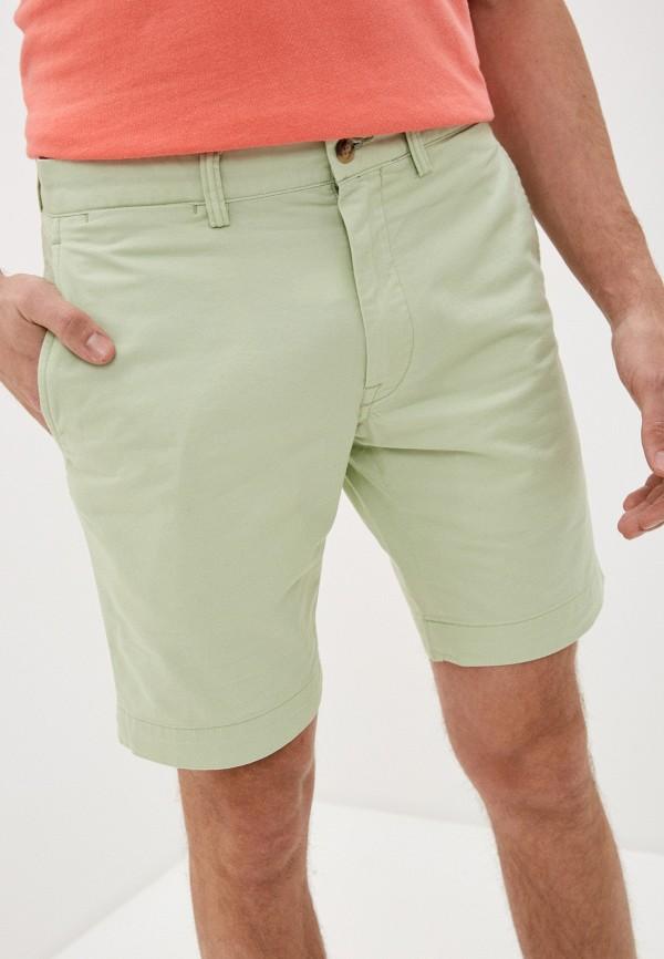мужские повседневные шорты polo ralph lauren, зеленые