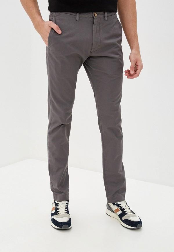 мужские повседневные брюки polo ralph lauren, серые