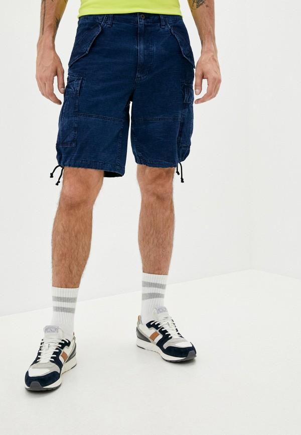 мужские джинсовые шорты polo ralph lauren, синие