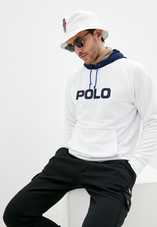 мужские худи polo ralph lauren, белые