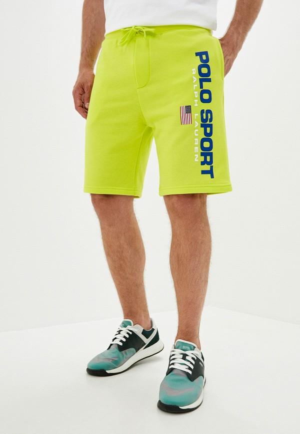 мужские спортивные шорты polo ralph lauren, зеленые