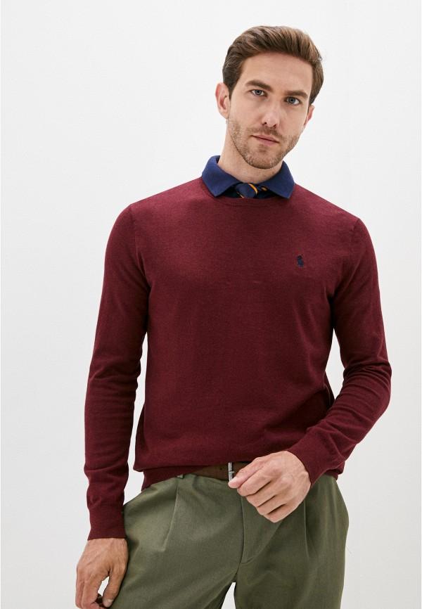 мужской джемпер polo ralph lauren, бордовый