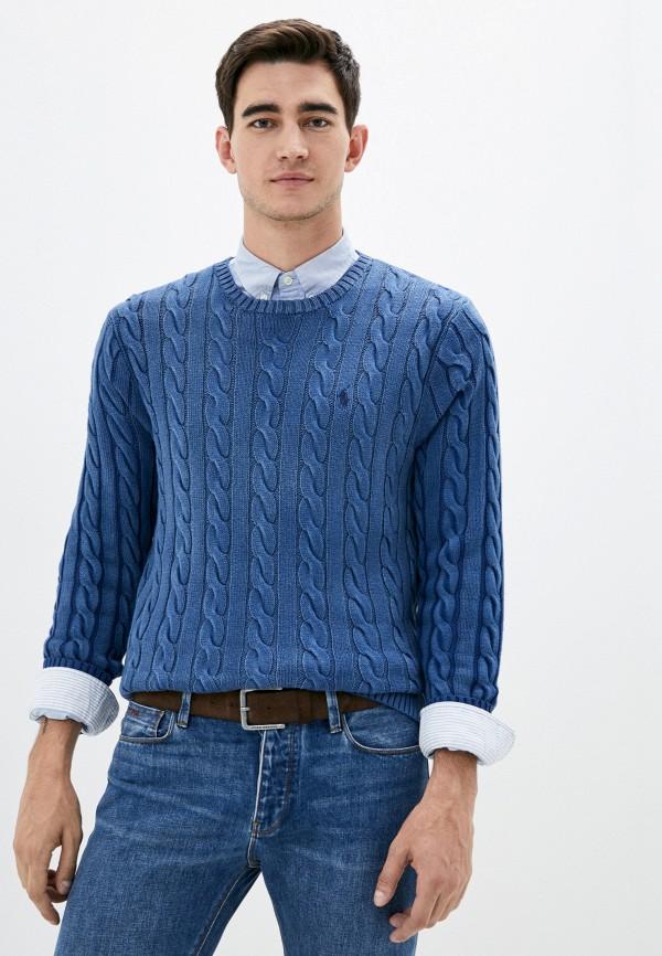 мужской джемпер polo ralph lauren, синий