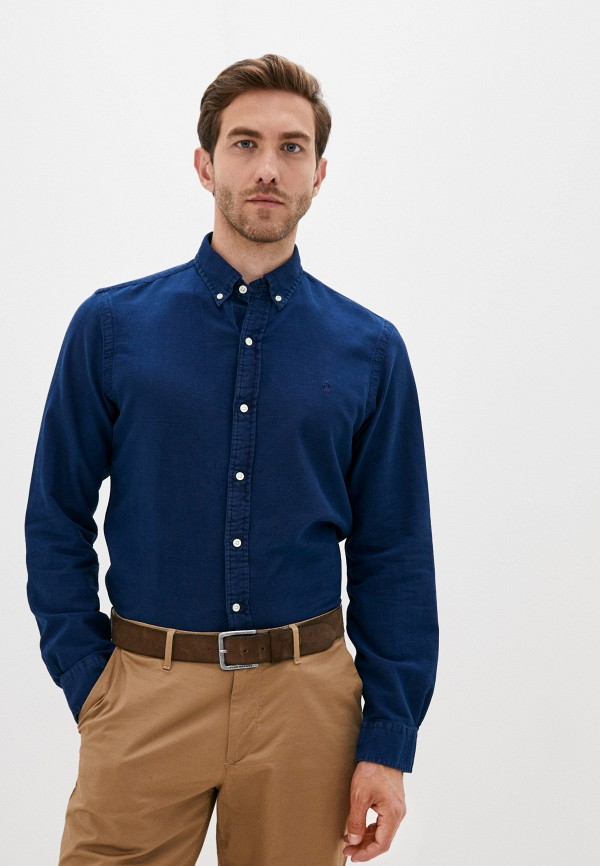 мужская джинсовые рубашка polo ralph lauren, синяя