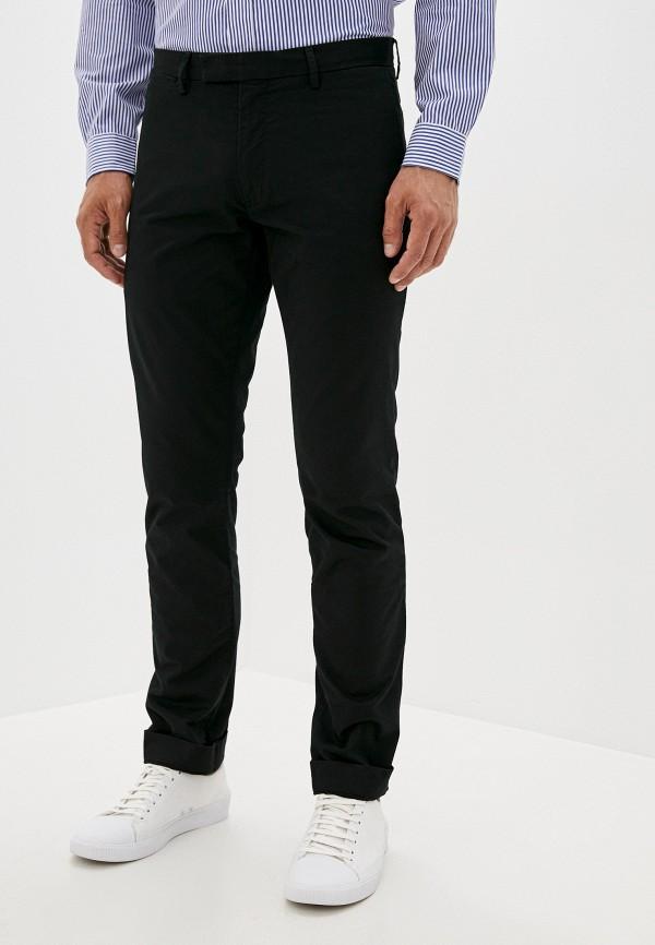 мужские повседневные брюки polo ralph lauren, черные