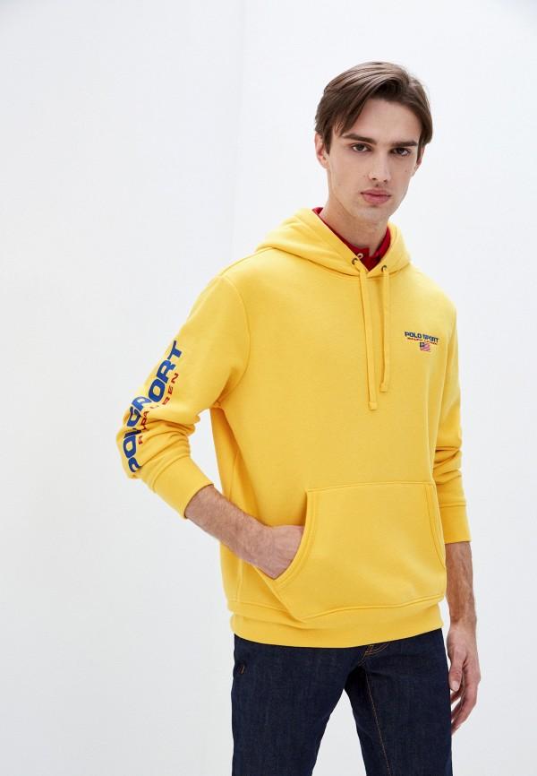 мужские худи polo ralph lauren, желтые