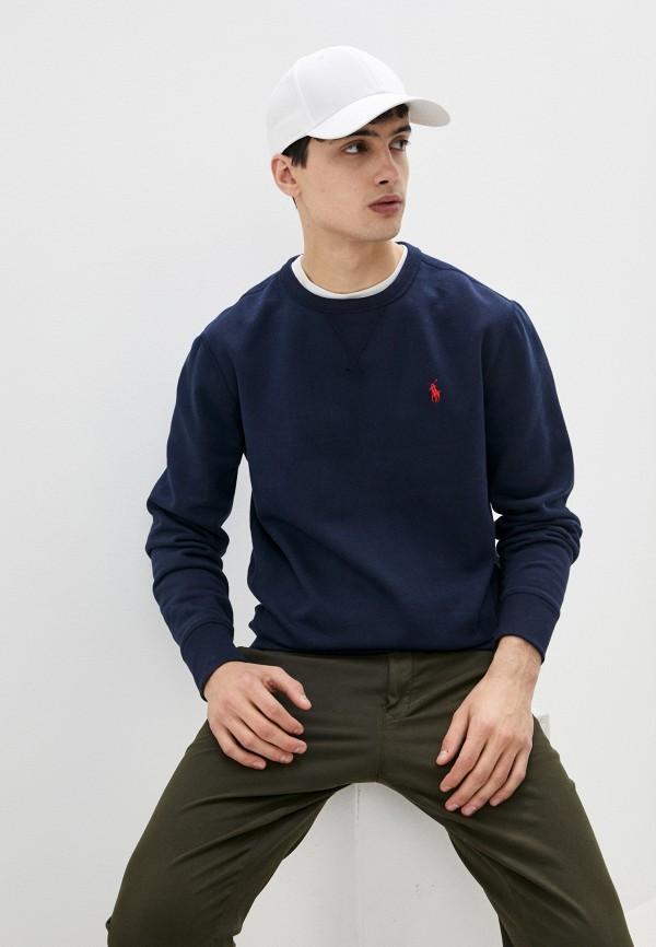 мужской свитшот polo ralph lauren, синий