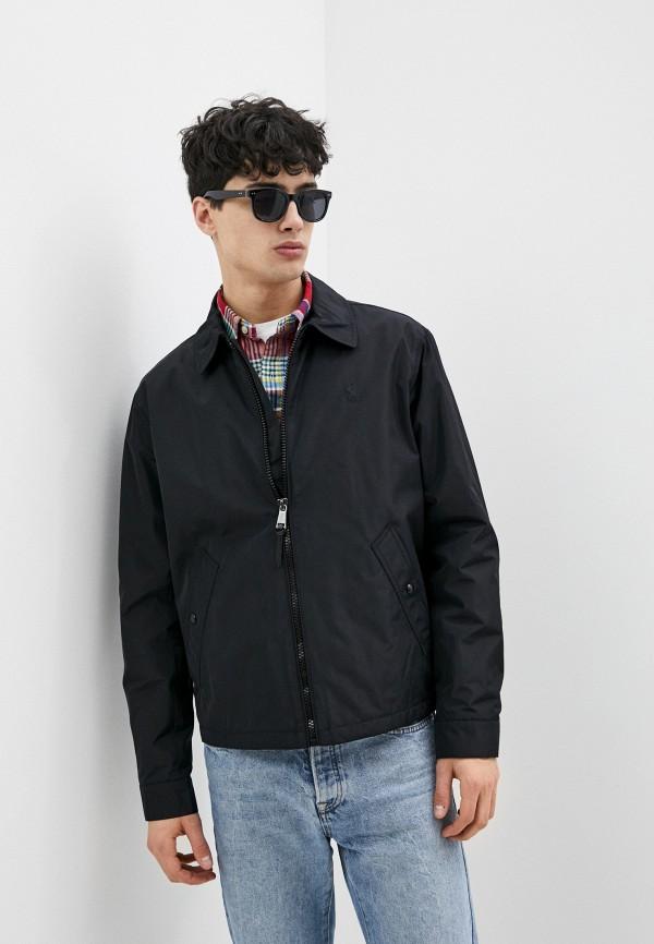 мужская куртка polo ralph lauren, черная