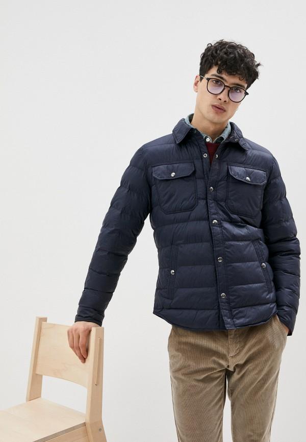 мужская куртка polo ralph lauren, синяя