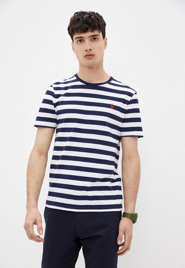 мужская футболка с коротким рукавом polo ralph lauren, разноцветная