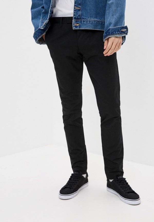 мужские брюки чинос polo ralph lauren, черные