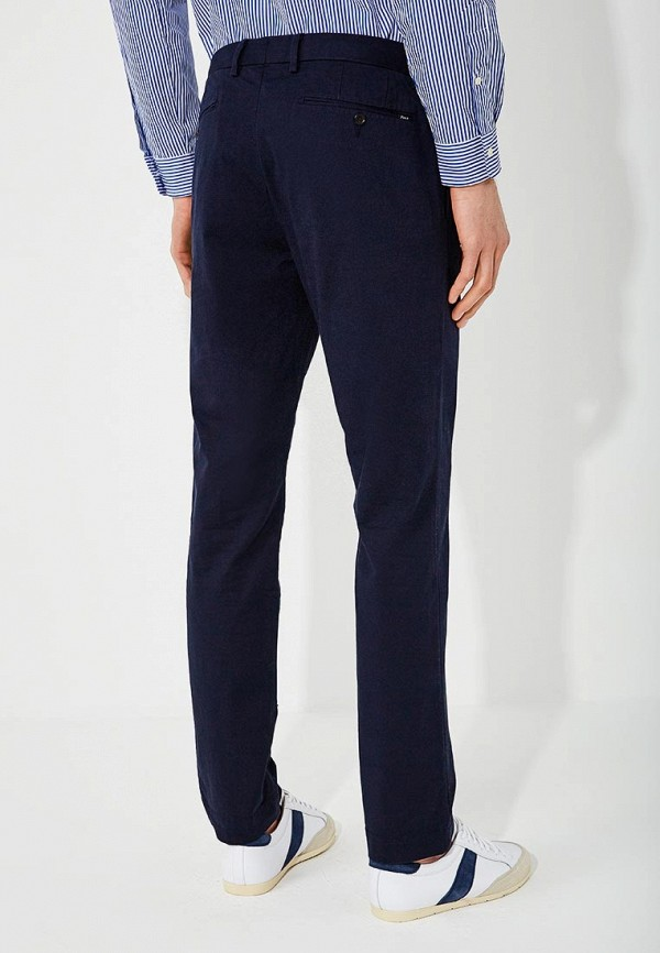 Фото 3 - мужские брюки Polo Ralph Lauren синего цвета
