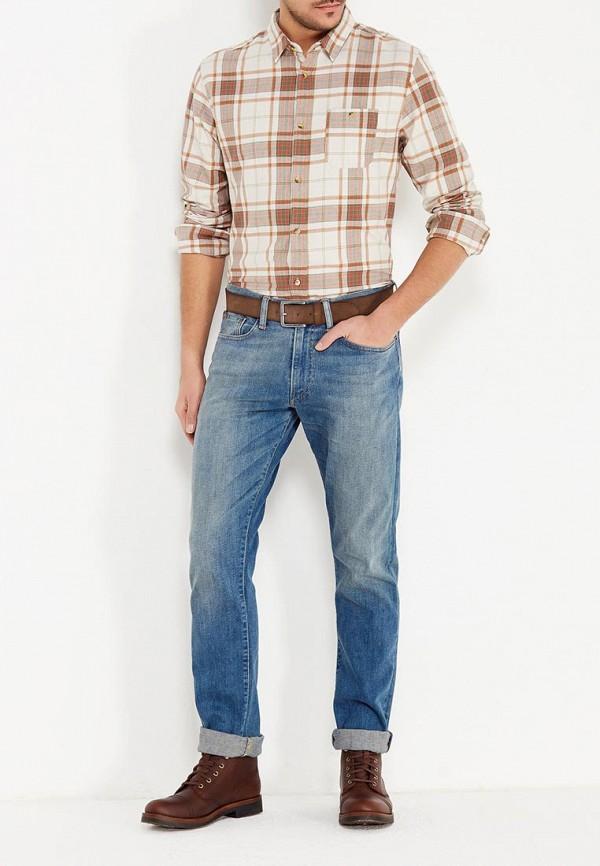 Фото 2 - мужские джинсы Polo Ralph Lauren голубого цвета
