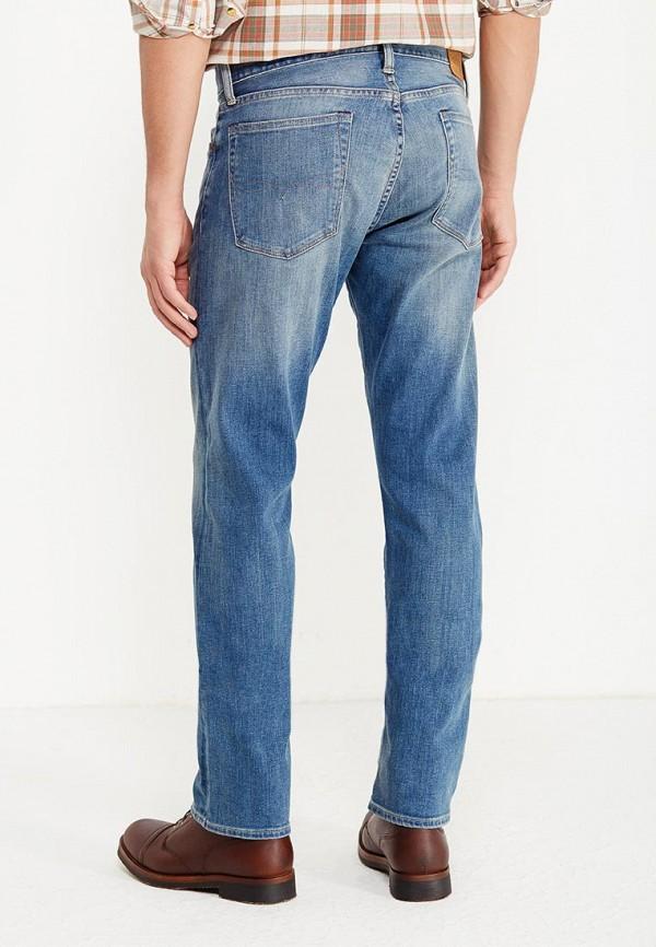 Фото 3 - мужские джинсы Polo Ralph Lauren голубого цвета