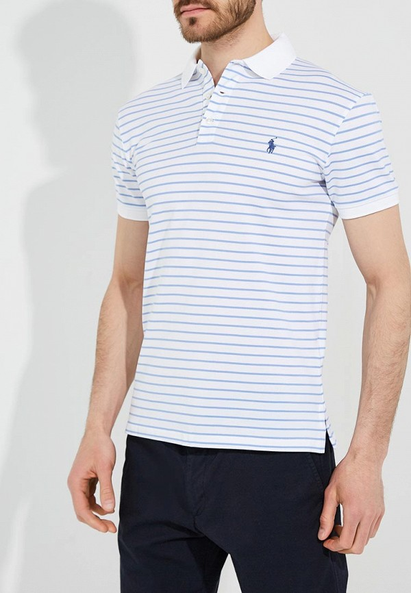Купить Поло Polo Ralph Lauren, PO006EMYYY67, белый, Весна-лето 2018