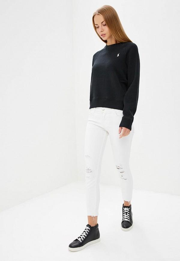 Фото 2 - Свитшот Polo Ralph Lauren черного цвета