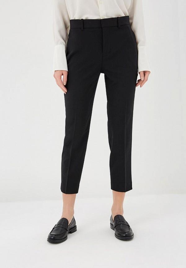 женские классические брюки polo ralph lauren, черные